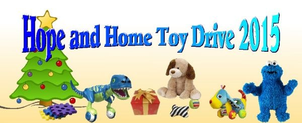 Our 10th Annual Hope and Home Toy Drive!